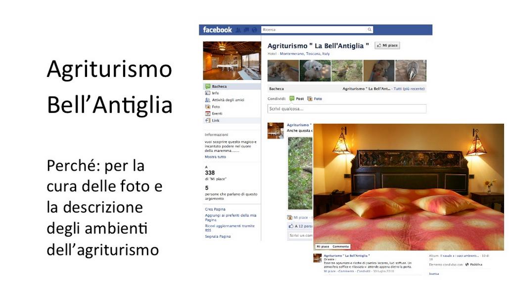 Come usare Facebook: il caso delle strutture ricettive maremmane