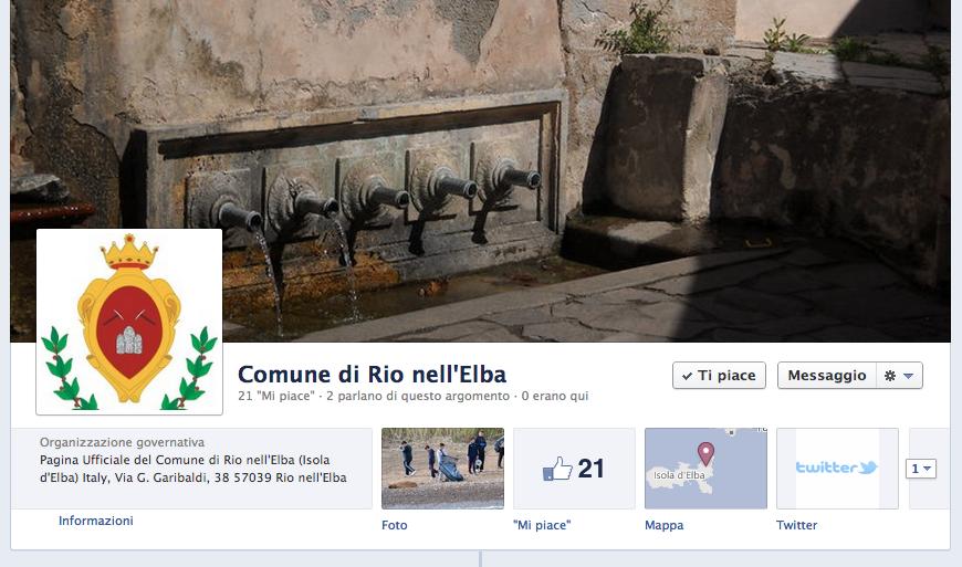 Facebook per la PA? Il caso dell'isola d'Elba