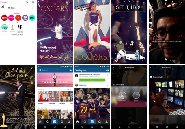 Snapchat e Instagram: la battaglia del real time video