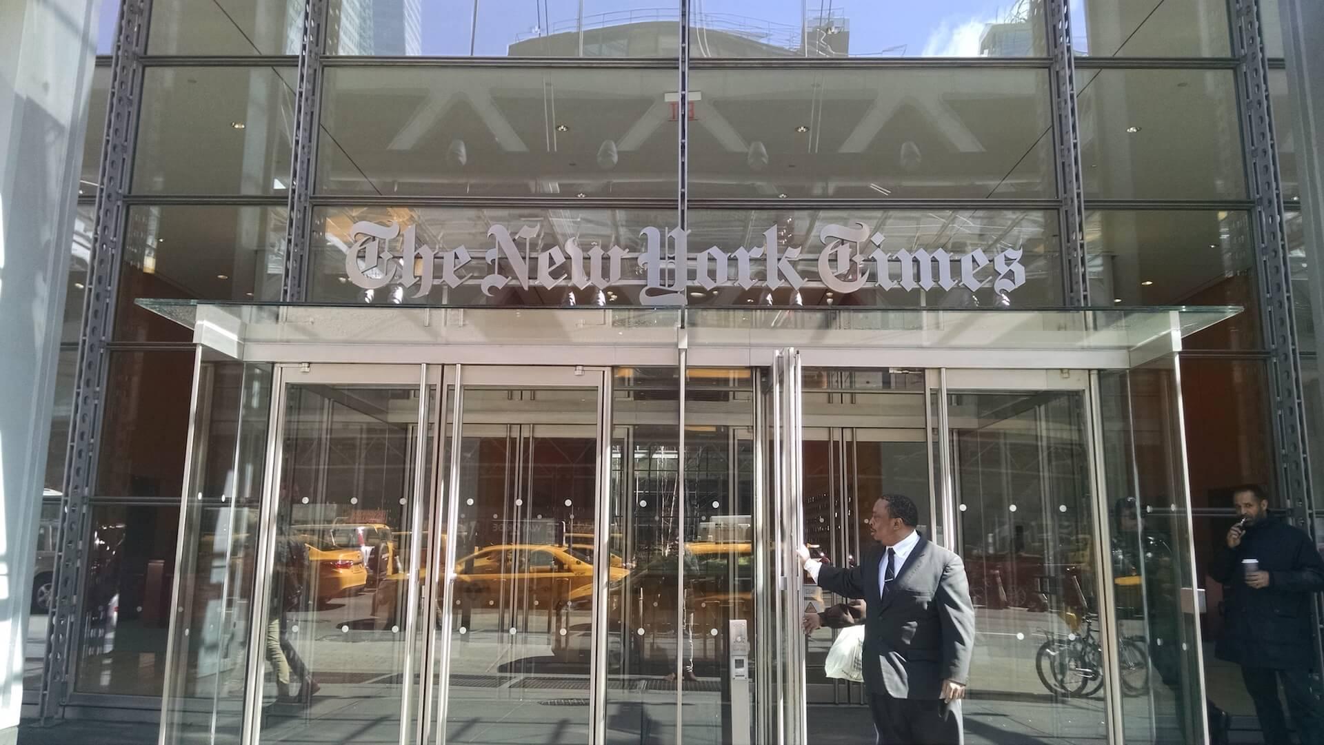 New York Times 2020: Tagli, Ma Anche Visione Strategica