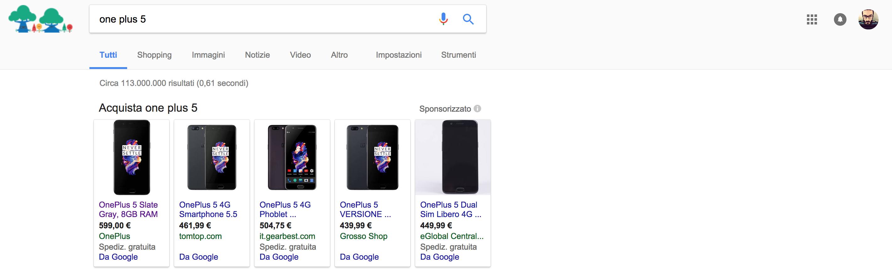 Google Vs Unione Europea il confronto dei prezzi su Google